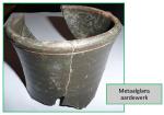 Metaalglans aardewerk