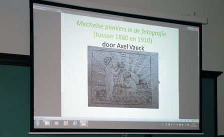Spreekbeurt Axel Vaeck